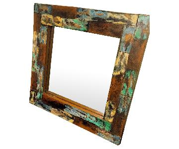 Custom Wood Mirror