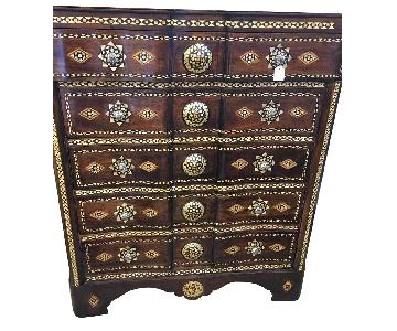 Vintage Syrian Bridal Chest of Drawers