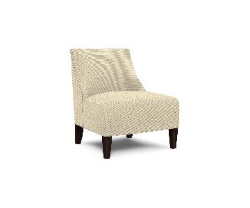 Mitchell Gold + Bob Williams Iris Chair in Mayer-Ecru