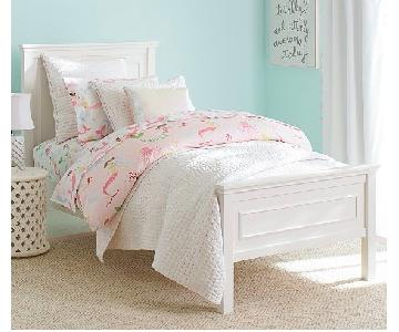 Pottery Barn Fillmore Kids Full Bed in Simply White