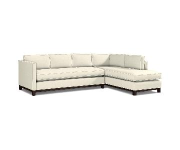 Mitchell Gold + Bob Williams Clifton Wingate-Linen Sectional
