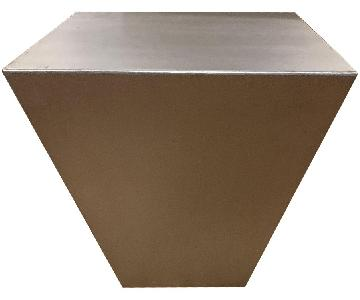 Metal Square Side Table