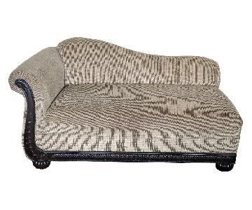 Bob's Beige Fabric Chaise