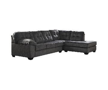 Ashley Accrington 2-Piece Sleeper Sectional Sofa