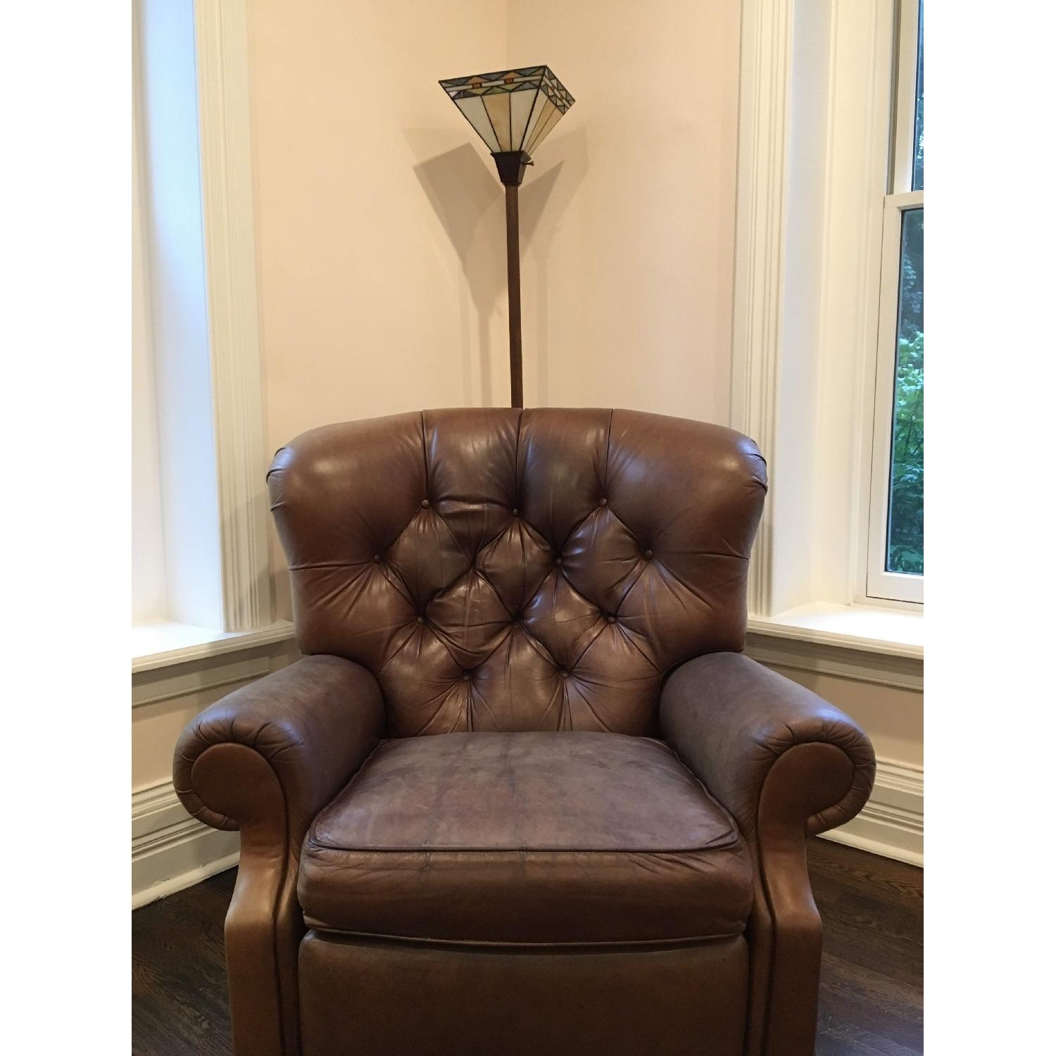 ... Club Furniture Jackson Tufted Leather Recliner Chair 0 ...
