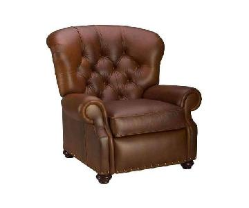 Club Furniture Jackson Tufted Leather Recliner Chair