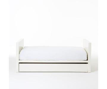 West Elm Parsons Day Bed in White