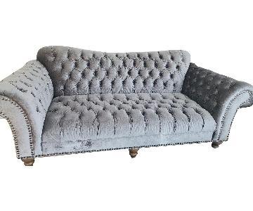 American Signature Ella Art Deco Style Sofa