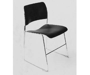 David Rowland 40/4 Chairs in Black