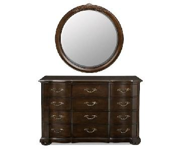 Raymour & Flanigan Belmont Dresser w/ Mirror