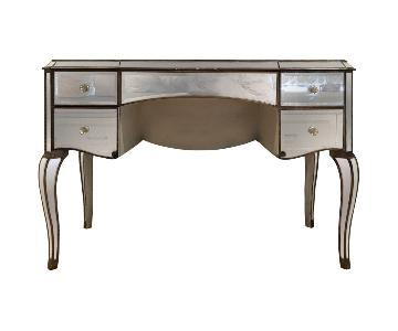 Horchow Claudia Mirrored Vanity/Desk