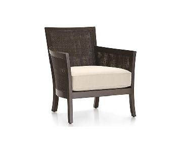 Crate & Barrel Blake Lounge Chair