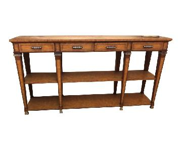 Theodore Alexander Eco-Friendly Reclaimed Wood Console Table