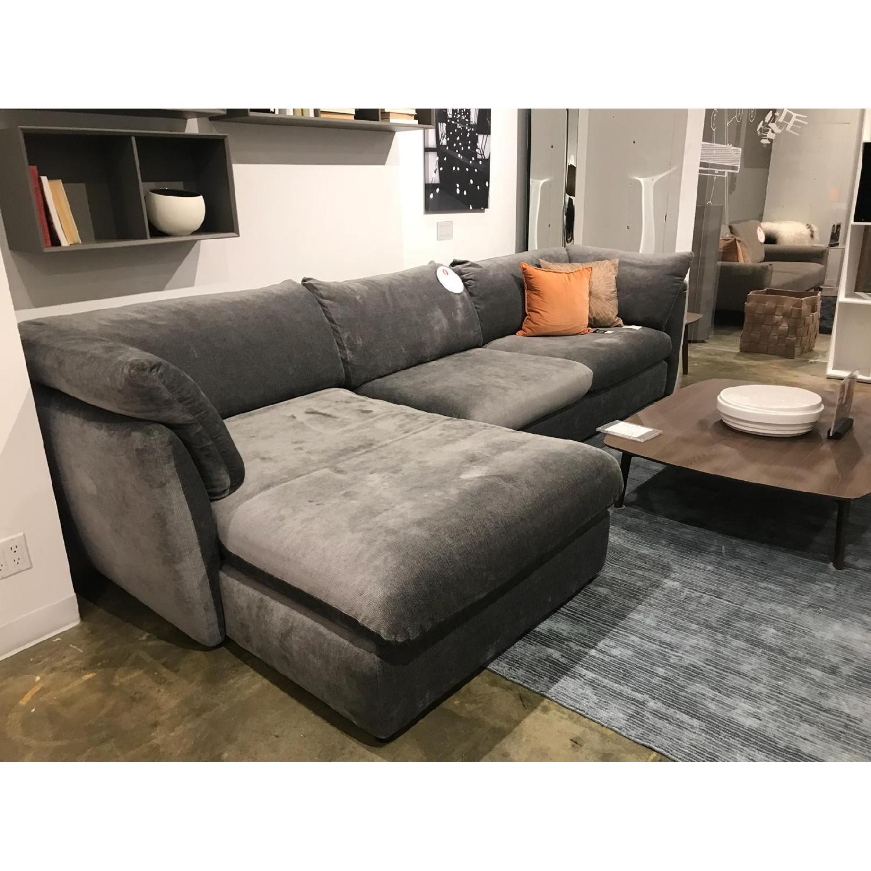 ... Calligaris Leaf 2 Piece Sectional Sofa 0 ...