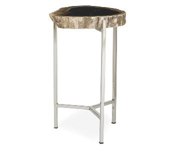 Mitchell Gold + Bob Williams Petrified Pull Up Table