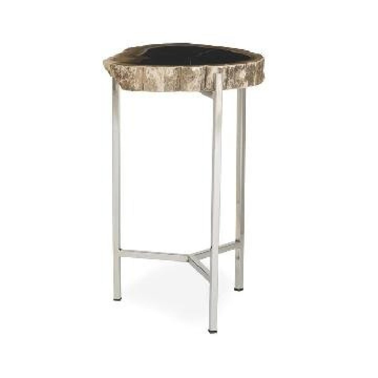 Mitchell Gold + Bob Williams Petrified Pull Up Table-2