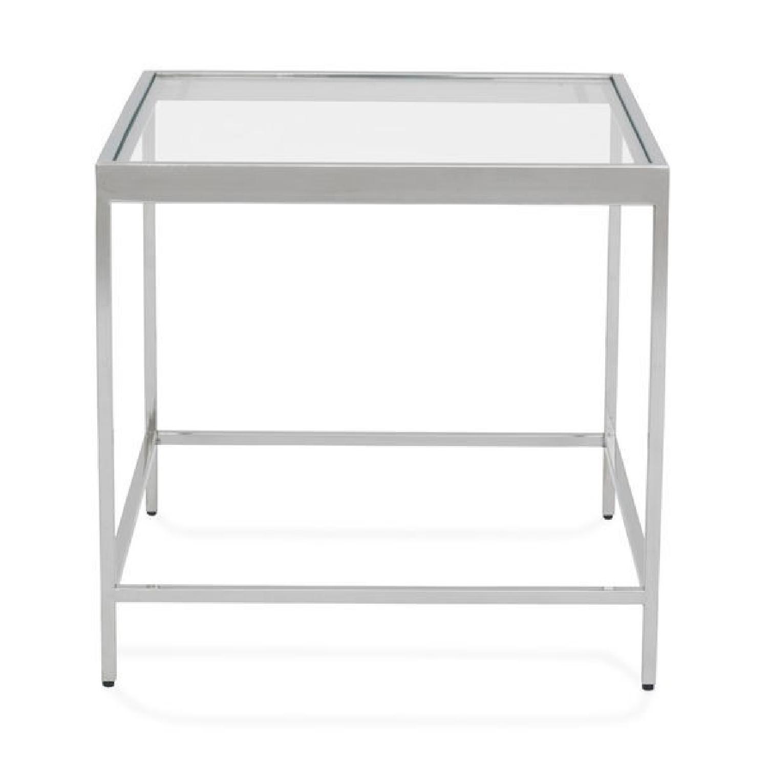 Mitchell Gold + Bob Williams Vienna Side Table in Pewter-0