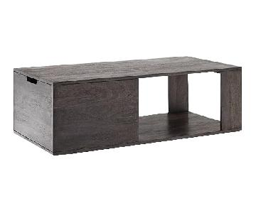 West Elm Pure Storage Coffee Table