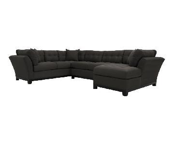 Raymour & Flanigan Metropolis 4 Piece Sectional Sofa