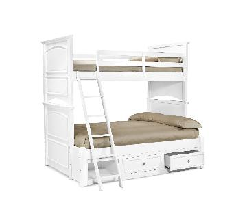 Macy's Roseville Twin Over Full Bunk Bed