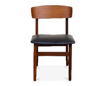 Gudbjerg Danish Mid Century Teak Chairs