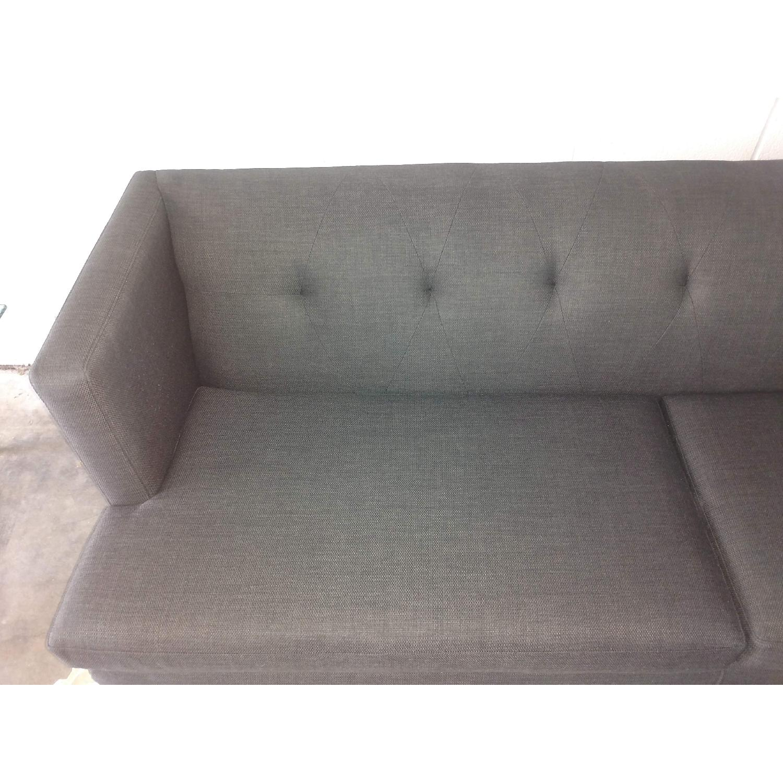 ... CB2 Avec Tufted Mid Century Style Sofa 3 ...