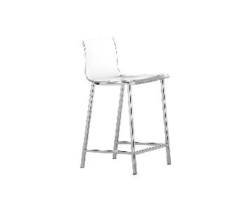 CB2 Vapor Acrylic Counter Stool