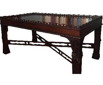 Henredon Mahogany Coffee Table