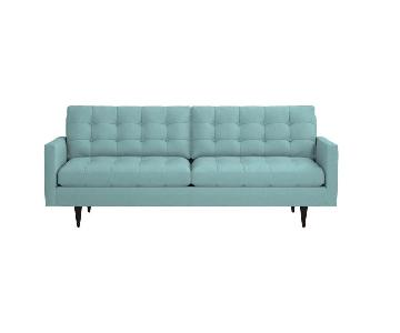 Crate & Barrel Petrie Mid Century Sofa NEED TO SELL ASAP