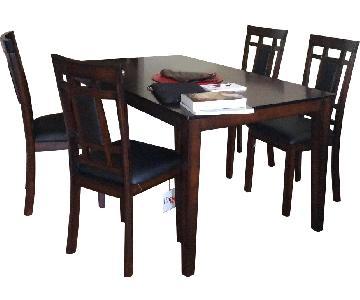 Wood 5-Piece Dining Set