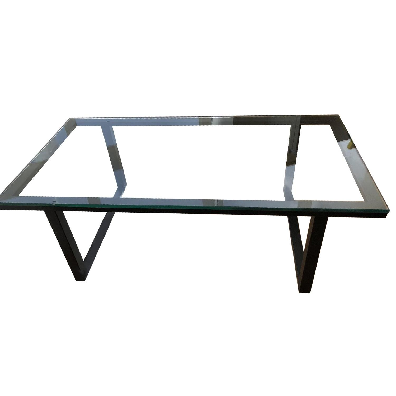 Attrayant Crate U0026 Barrel Parsons Coffee Table ...