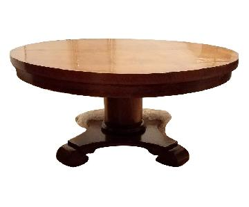 Vintage 1800s Expandable Coffee Table
