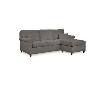 Macy's Lidia 2-Piece Sectional Sofa