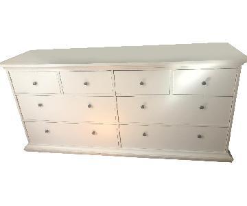 Target White Dresser w/ Bronze Color Hardware