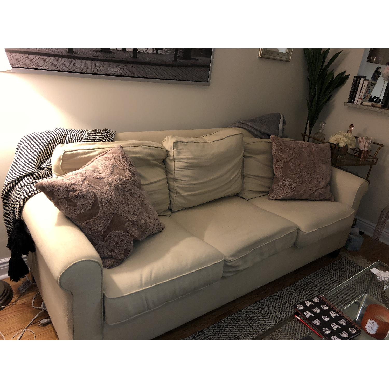 Pottery Barn Cameron Roll Arm Upholstered Sofa-0