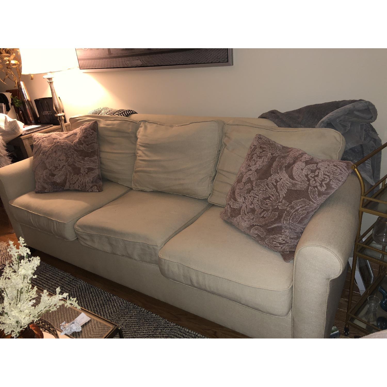 Pottery Barn Cameron Roll Arm Upholstered Sofa-1