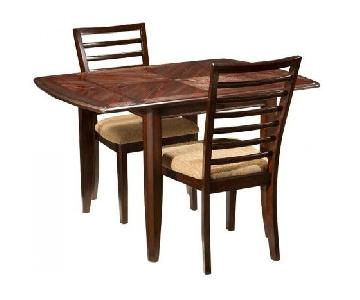Raymour & Flanigan Chace 3-Piece Drop-Leaf Dining Set
