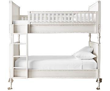 Restoration Hardware Bellina Twin Bunk Bed w/ Trundle