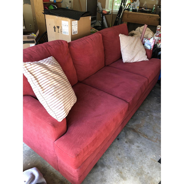 Bassett Scarlett Chenille Custom Sofa