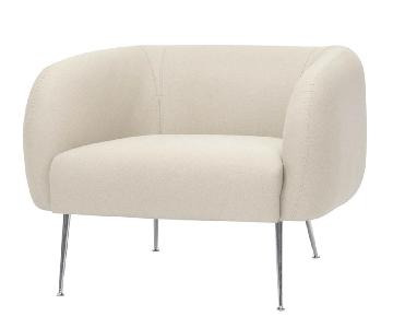 Nuevo Living Astrid Occasional Armchair in Sand