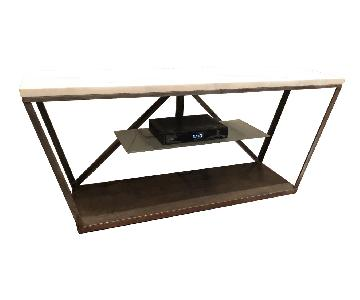 Custom Made Marble TV Stand