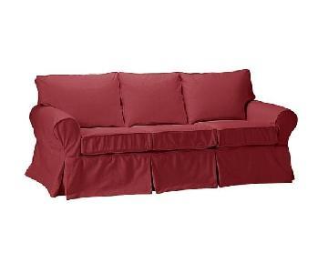 Pottery Barn PB Basic Slipcovered Sofa