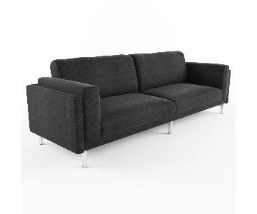Ikea Nockeby Charcoal Grey Sofa