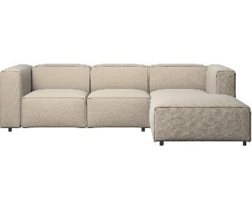 BoConcept Carmo Sectional Sofa in Light Beige