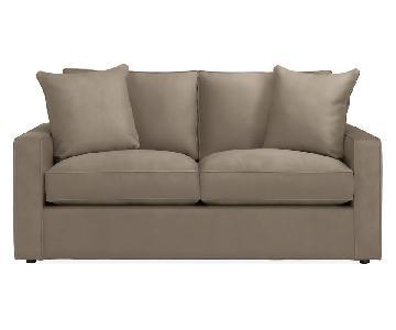 Room & Board York Gray Sofa