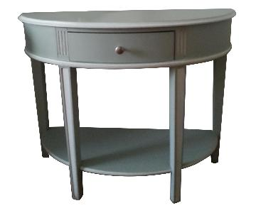 One Kings Lane Demilune Hall/Side Table/Console