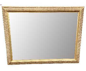 W. & J. Sloane Gilt Wood Neoclassical Mirror