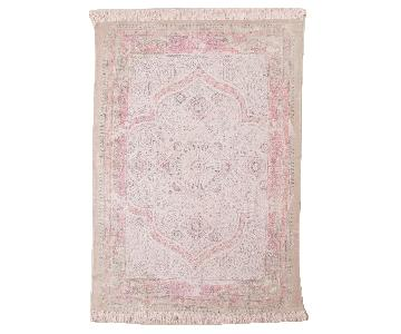 Urban Outfitters Rustic Medallion Print Rug