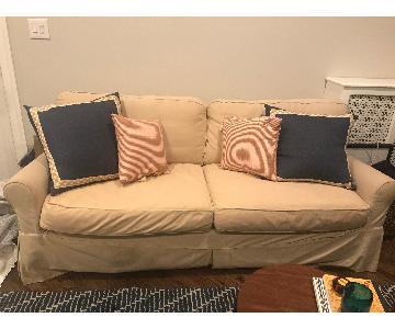 Boston Interiors Hadley Slipcovered Sofa