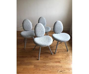 Hitch Mylius Modern Upholstered Dining Chairs